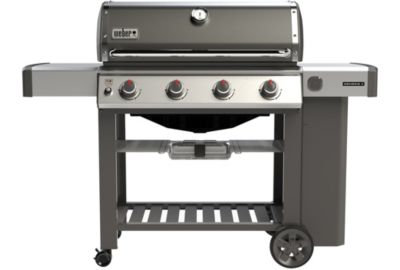 Barbecue gaz Weber Genesis II E410 GBS Gas Grill smoke grey