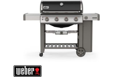 Barbecue WEBER Genesis II E-410 GBS plancha black