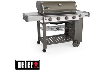 Barbecue WEBER Genesis II E-410 GBS plancha smoke grey