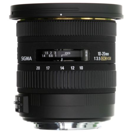 Objectif SIGMA 10-20mm f/3.5 DC EX HSM Canon