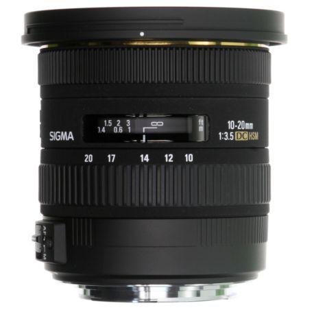 Objectif SIGMA 10-20mm f/3.5 EX DC HSM Pentax