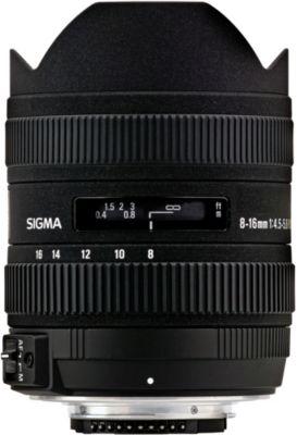 Objectif pour Reflex Sigma 8-16mm f/4.5-5.6 DC HSM Canon