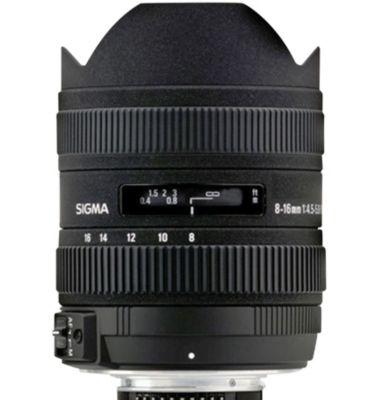Objectif pour Reflex Sigma 8-16mm f/4.5-5.6 DC HSM Sony