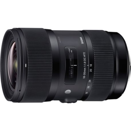 Objectif SIGMA 18-35mm f/1.8 DC HSM Art Canon
