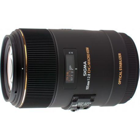 Objectif SIGMA 105mm f/2.8 Macro EX DG OS HSM Nikon
