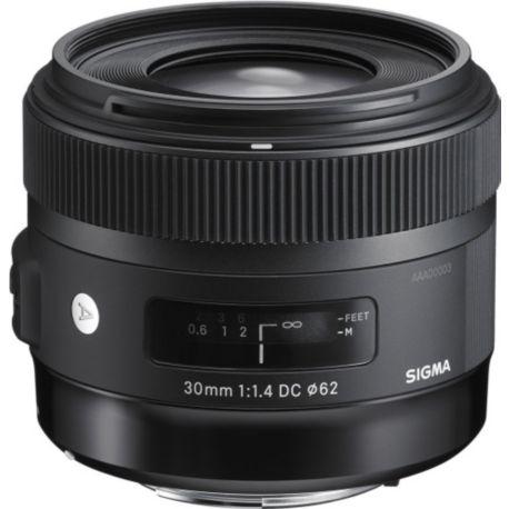 Objectif SIGMA 30mm f/1.4 DC HSM Art Canon