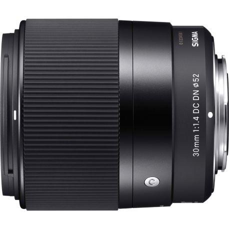 Objectif SIGMA 30mm F1.4 DC Contemporary Canon EF-M