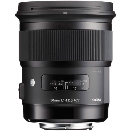 Objectif SIGMA 50mm f/1.4 DG HSM Art Canon