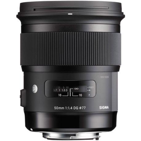 Objectif SIGMA 50mm f/1.4 DG HSM Art Nikon