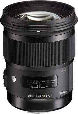 Objectif pour Reflex Plein Format Sigma 50mm f/1.4 DG HSM Art Sony E