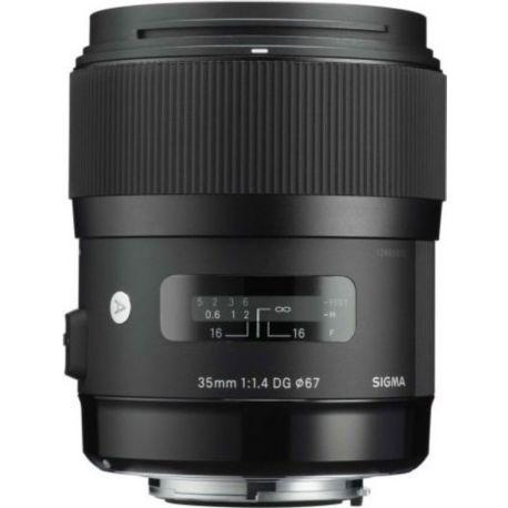 Objectif SIGMA 35mm f/1.4 DG HSM Art Sony E