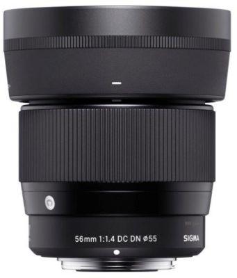 Objectif pour Hybride Sigma 56mm F1.4 DC Contemporary Canon...