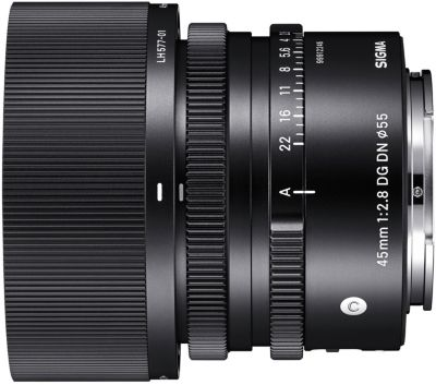Objectif pour Hybride Plein Format Sigma 45mm F2.8mm DN OS...