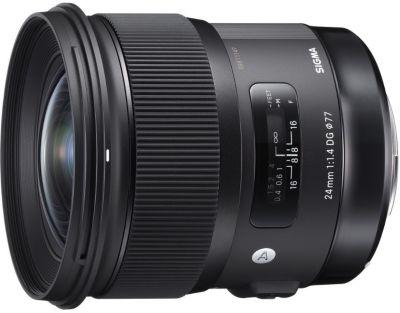 Objectif pour Reflex Plein Format Sigma 24mm f/1.4 DG HSM Art Canon
