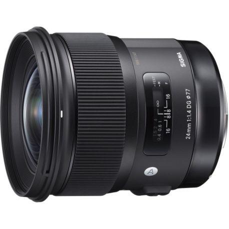 Objectif SIGMA 24mm f/1.4 DG HSM Art Canon