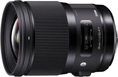 Objectif pour Reflex Sigma 28mm F1.4 DG HSM Art Nikon