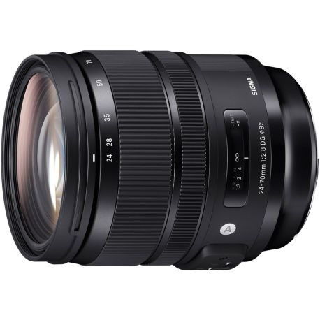 Objectif SIGMA 24-70mm F2.8 DG OS HSM Art Ca
