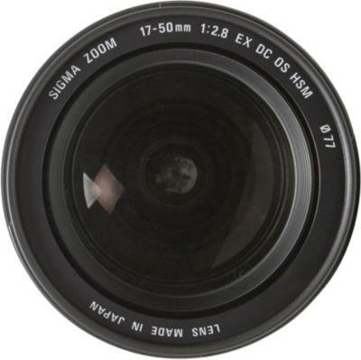 Objectif pour Reflex Sigma 17-50mm f/2.8 EX DC OS HSM Canon