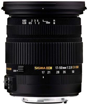 Objectif pour Reflex Sigma 17-50mm f/2.8 EX DC OS HSM Nikon