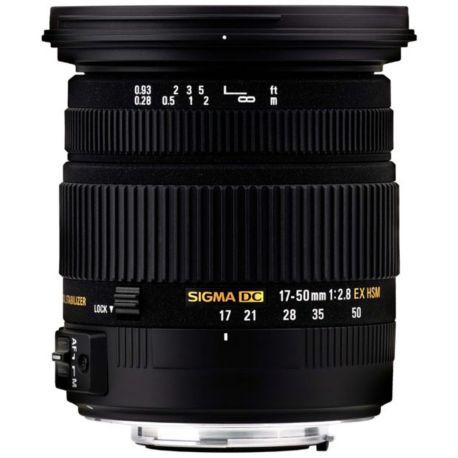 Objectif SIGMA 17-50mm f/2.8 EX DC OS HSM Nikon
