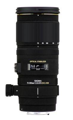 Objectif pour Reflex Plein Format Sigma 70-200mm f/2.8 EX DG APO OS HSM Canon