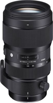 Objectif Sigma 50-100mm F1.8 DC HSM Art CANON