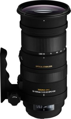Objectif pour Reflex Plein Format Sigma 50-500mm f/4.5-6.3 DG OS HSM APO Sony