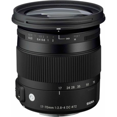Objectif SIGMA 17-70mm f/2.8-4 Macro DC OS HSM Canon