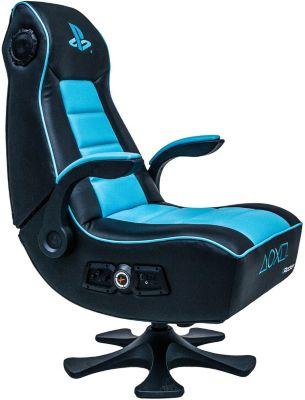 Fauteuil Gamer e-Concept x-rocker sony infinity 2.1 noir/bleu