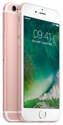 Smartphone Apple iPhone 6s Rose Gold 32GO