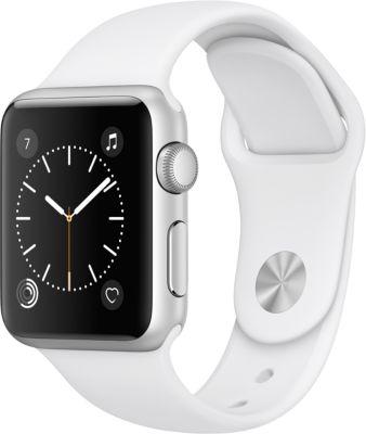 Montre Connectée apple watch 38mm alu / blanc series 1
