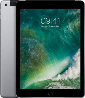 Tablette Apple ipad 128go cel. gris sid.