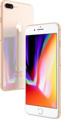 Smartphone Apple iPhone 8 Plus Or 256 GO + Coque Apple iPhone 7/8 Plus cuir noir