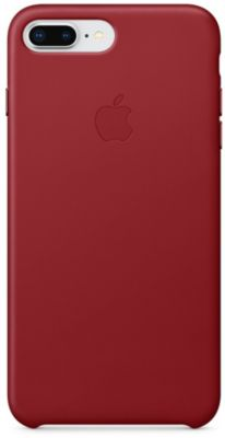 Coque Apple iPhone 7/8 Plus cuir (PRODUCT) RED