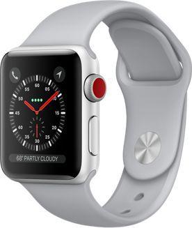 Montre Connectée apple watch 38mm alu/nuage series 3 cellular