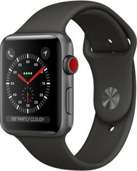 apple watch 42mm alu gris gris series 3 cellular montre. Black Bedroom Furniture Sets. Home Design Ideas