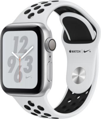 Montre connectée Apple Watch Nike+ 40MM Alu Arg/Noir Plat Series 4