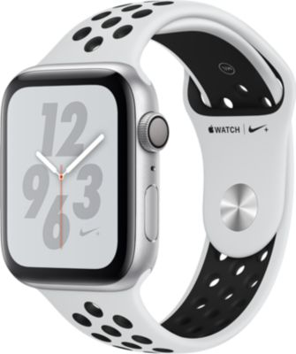 Montre connectée Apple Watch Nike+ 44MM Alu Arg/Noir Plat Series 4