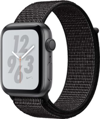 Montre connectée Apple Watch Nike+ 44MM Alu Gris/Boucle Noir Series 4