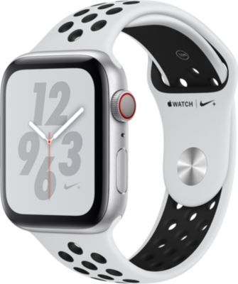Montre connectée Apple Watch Nike+44MM Alu Arg/Noir Plat Series 4 Cel