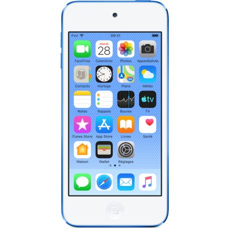 Baladeur mp4 APPLE IPOD Touch 128GB Bleu