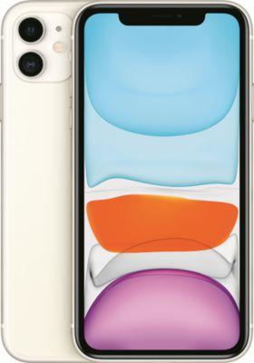 Smartphone Apple iPhone 11 Blanc 64 Go + Coque Apple iPhone 11 Silicone noir