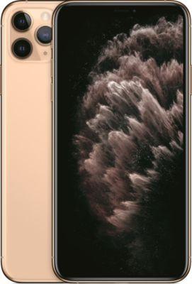 Smartphone Apple iPhone 11 Pro Max Or 64 Go + Coque Adeqwat iPhone 11 Pro Max Antichoc transparent + Protège écran Adeqwat iPhone 11 Pro Max Verre trempé intégral