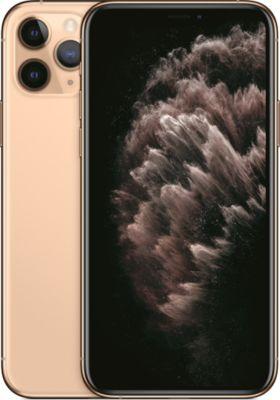 Smartphone Apple iPhone 11 Pro Or 64 Go + Coque Adeqwat iPhone 11 Pro Antichoc transparent + Protège écran Adeqwat iPhone 11 Pro Verre trempé intégral