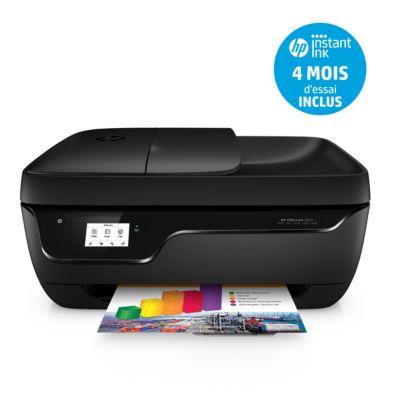 Imprimante jet d'encre HP Office Jet 3833 + Cartouche d'encre HP N°302 noire