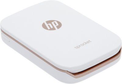 Imprimante photo portable HP Sprocket blanche