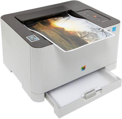Imprimante laser couleur Samsung SL-C430W + Toner Samsung CLT-404S Noir + Papier ramette Essentielb Papier 75g 500 feuilles
