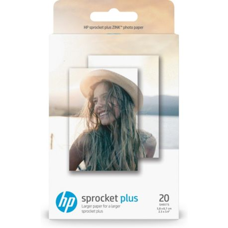 Papier HP 20 feuilles ZINK pour Sprocket Eclipse