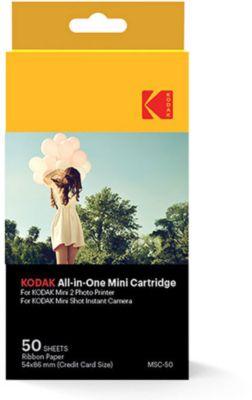 Papier photo instantané Kodak 50 feuilles Mini Shot et Mobile Print 2