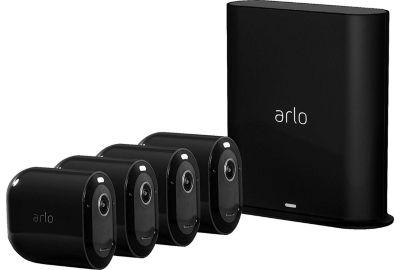 Caméra ARLO Pro 3 Black Kit de 4 cam VMS4440B